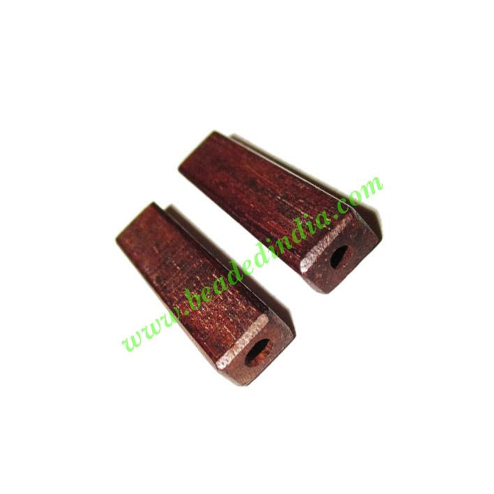 Rosewood Beads, Handcrafted designs, size 5x7x30mm, weight a - Rosewood Beads, Handcrafted designs, size 5x7x30mm, weight approx 1.45 grams