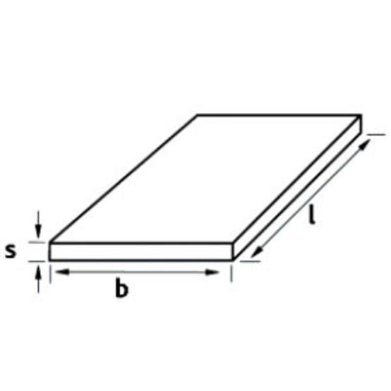 Stainless steel sheet, 1.4571, hot-rolled, 1D - pickled, EN 10088-2