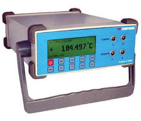 Calsys C-4004 High Accuracy Four Channel Temperature Indicat -