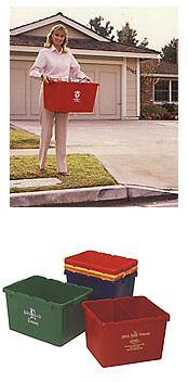 Wertstoffsammelbehälter - Mehrwegkisten und -behälter