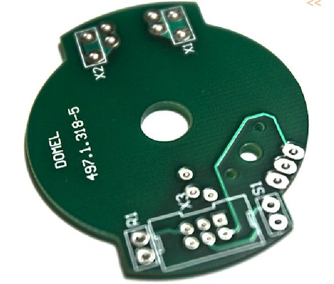 Single-sided printed circuit boards