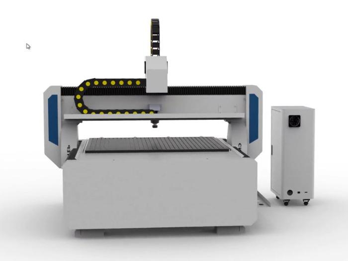 Servo motors Portal Milling Machine T-Rex Servo1212 - CNC Mill with CNC control included in control panel and vacuum table