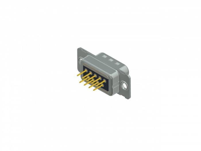 Filter D-SUB Steckverbinder - C-Filter D-SUB Standard Lötstift – gerade – gedrehte Kontakte