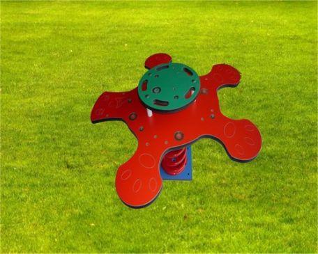 Jeu Sur Ressort Coccinelle 4 Ou 5 Places - Aires De Jeux Enfants