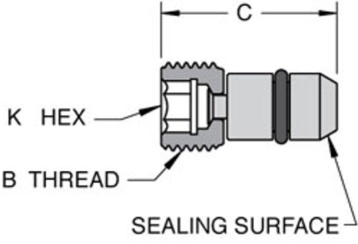 NACE Compliant Dual Sealing AFO Plug - null