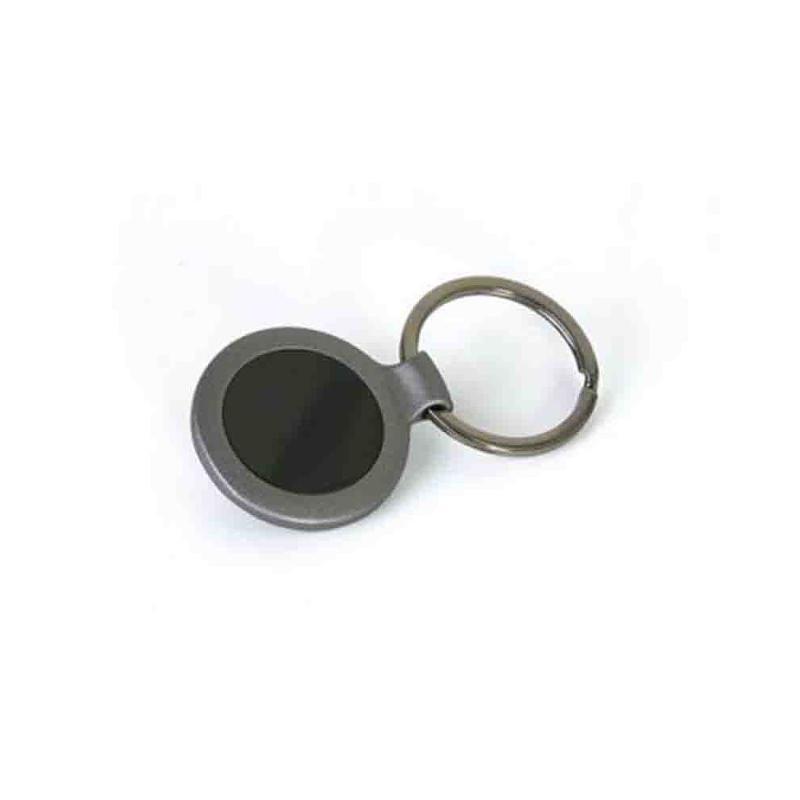 Porte-clés métal anthracit - Porte-clés métal