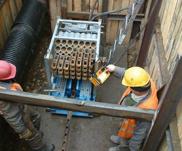 Static Pipe Bursting - GRUNDOBURST 800G
