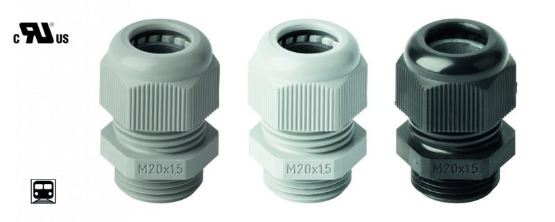 PERFECT cable gland polyamide V-0 - for superior claims on fire protection