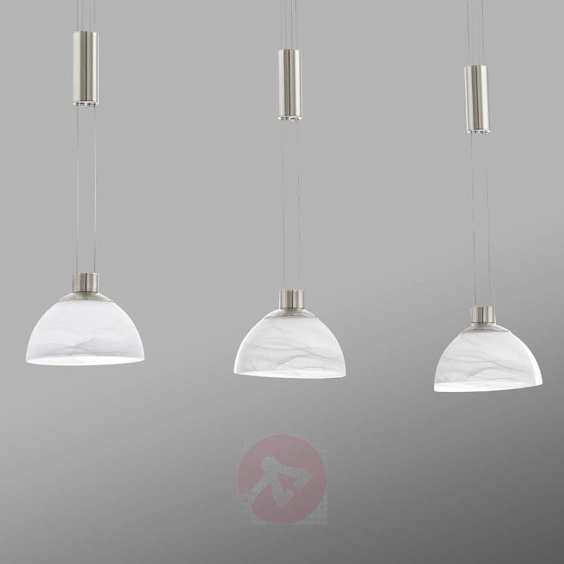 Montefio - 3-bulb LED hanging light - Pendant Lighting
