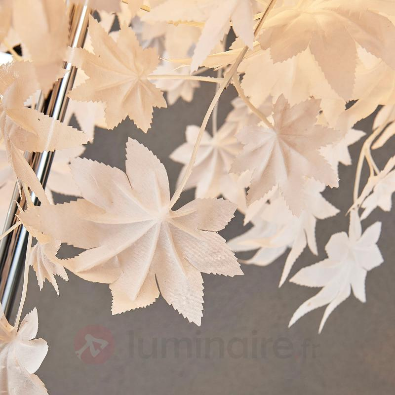 Lampadaire Maple avec décor de feuilles - Lampadaires en tissu