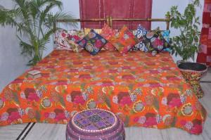 kantha quilt  - bedcover