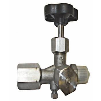 Gauges / Thermometers and Accessories - Manometer gauge valves MAV16270; MAV16271; MAV16272