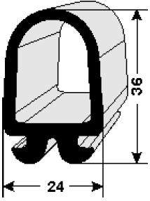 Manufacturing of door rubber profiles