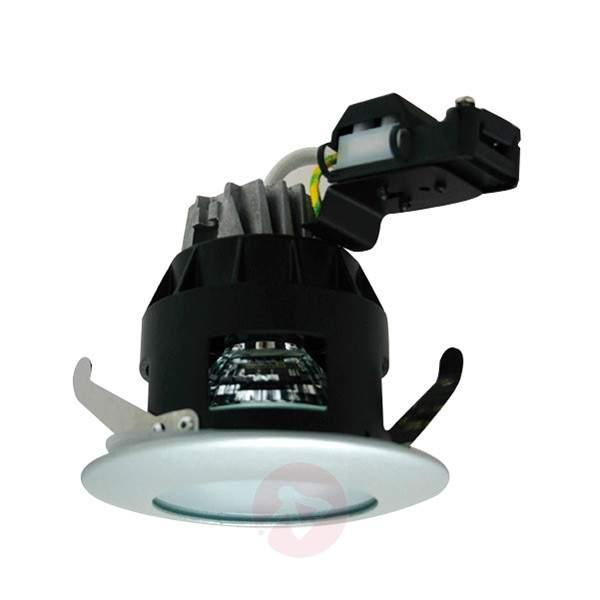 Ed high-volt ecessed light, tension relief, fixed - High-Voltage Spotlights
