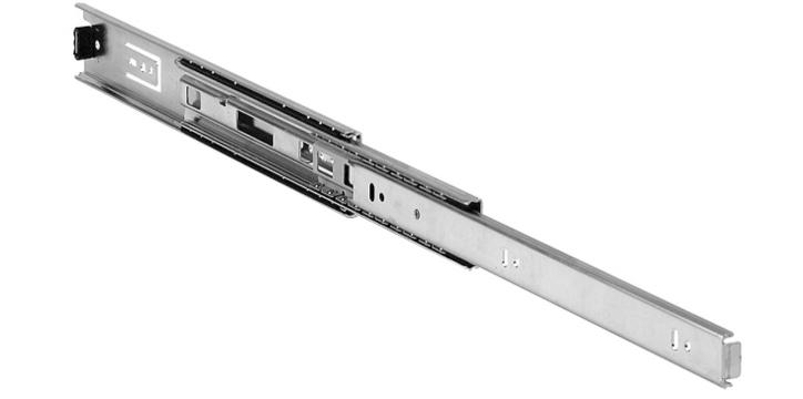 Light Rail - Light telescopic linear guides with full or partial extraction