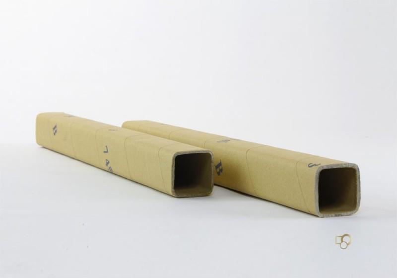 Tubi quadrati in cartone - null