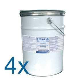 RETHAX.SID GRIS LUMIERE 4x5 kg RAL 7035 - Revêtement de sol polyuréthane monocomposant
