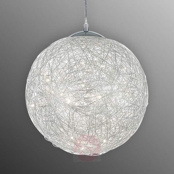Appealing LED pendant light Thunder, Ø 30 cm - Pendant Lighting