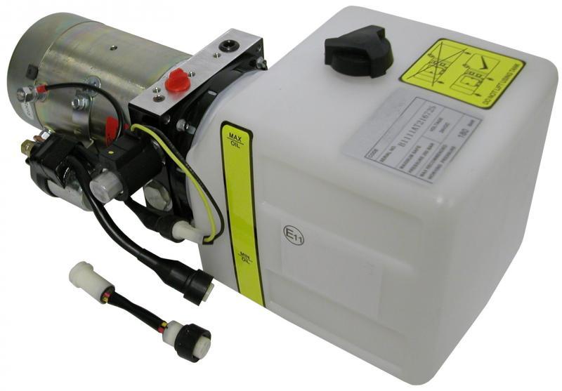 Hydro-24V/3,1 ccm/4,7L 180 Bar power pac - Power packs
