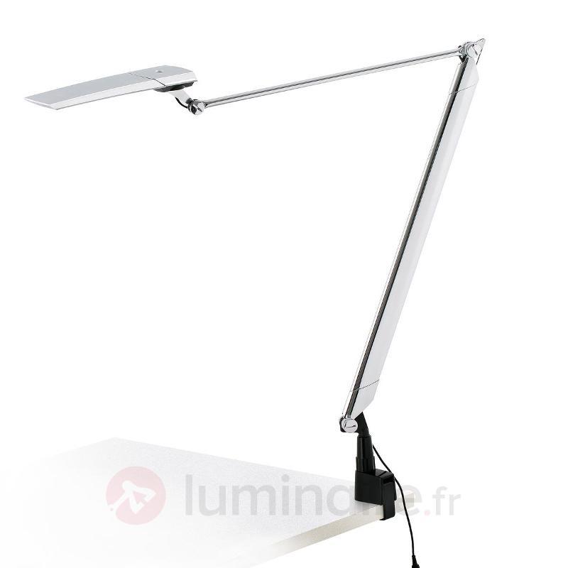 Lampe à poser LED chromée Katana - Lampes de bureau LED