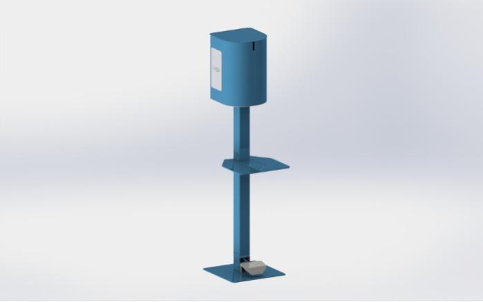 Distributeur de gel hydroalcoolique -