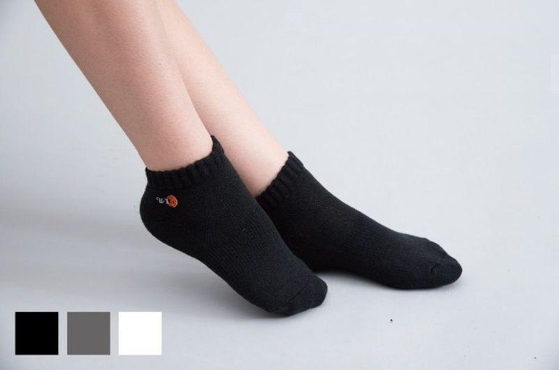 Bambu kömürü küfe dayanıklı ayak bileği minderi çorapları