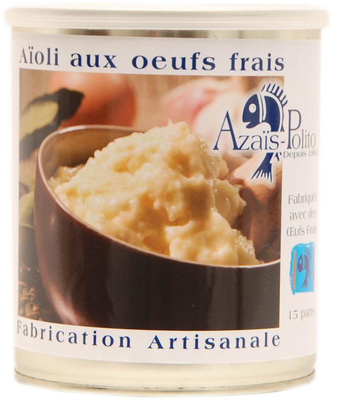 Aïoli Sétoise aux oeufs frais 4/4 - Epicerie salée