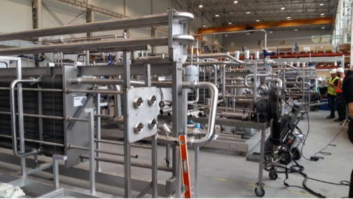 Maßgeschneiderte, modulare Anlagentechnik im Skid-System - | Herstellung | Montage | Lieferung |