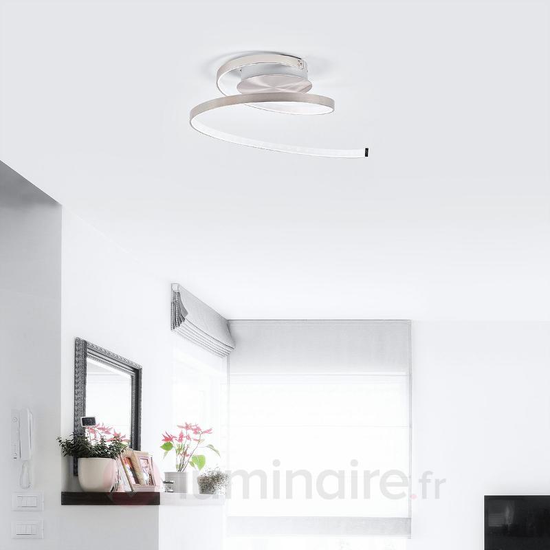 Plafonnier LED aux formes dynamiques Junus - Plafonniers LED