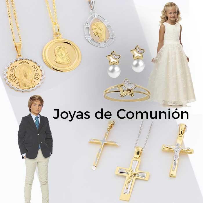 Joyas de Primera Comunión - Ideas para regalos de comunión con joyas para niñas y niños.