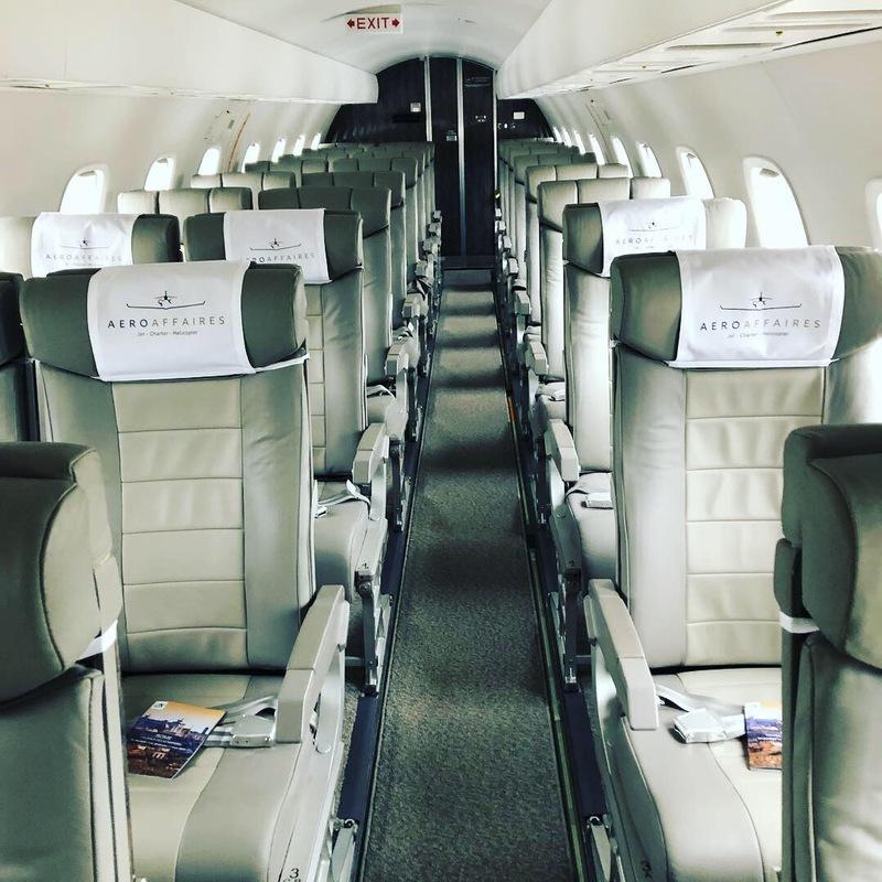 Vol de groupe - Affréter un avion commercial