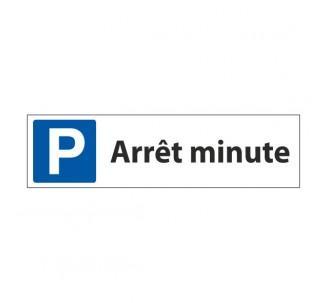 Panneau de signalisation parking