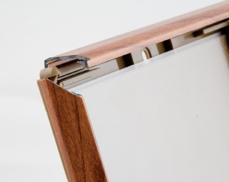 Opti Kaders - Opti Kader met hout klikprofiel met standaard