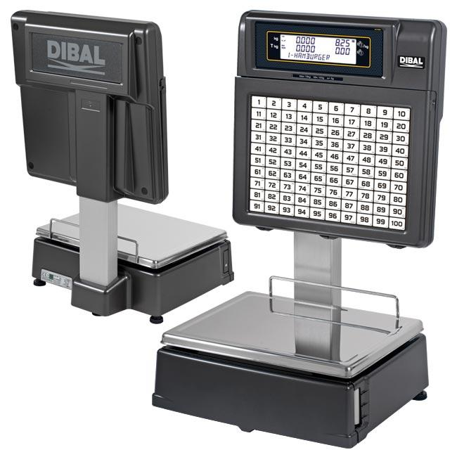Tornado Series - Retail scales with receipt or label printer