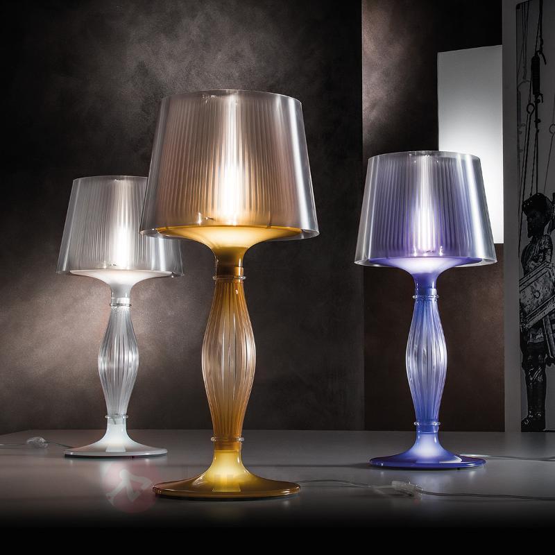 Lampe à poser transparente Liza - Lampes à poser designs