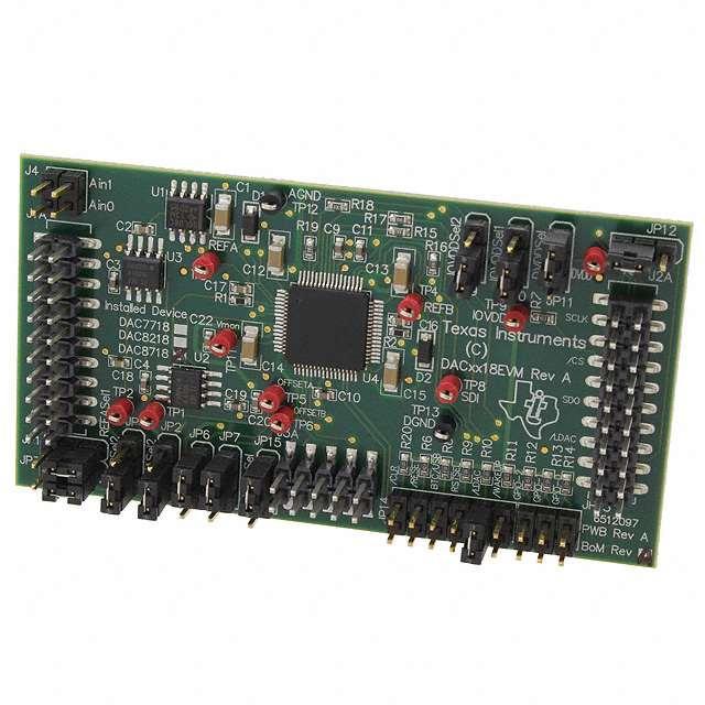 EVAL MODULE FOR DAC8718 - Texas Instruments DAC8718EVM