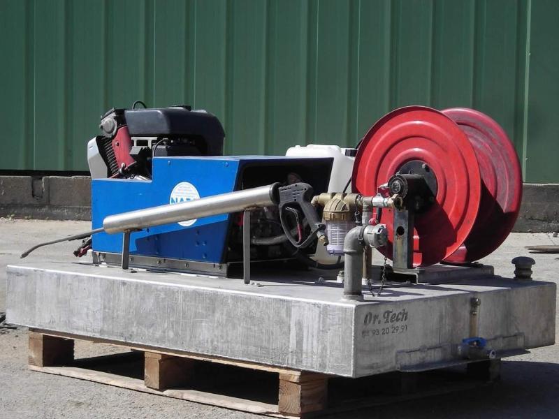 Nettoyeur haute pression eau froide autonome - SKID FP 200 - Propreté urbaine