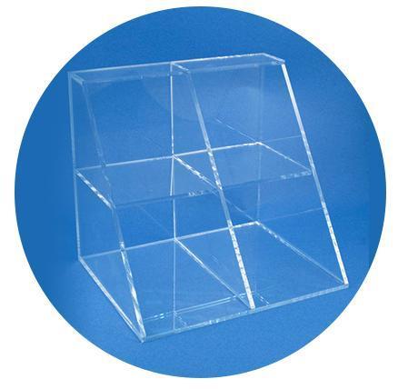 Акриловые дисплеи - Акриловые витринного принимает Алмазные отрезные и представляет под разными угла