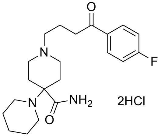 Dihidrocloruro de Pipamperono - Dihidrocloruro de Pipamperono; Pipamperono (2HCl); CAS 2448-68-2