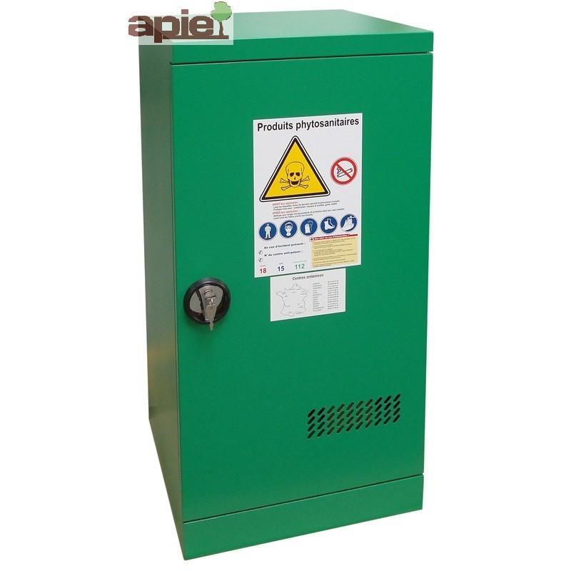 Armoire phytosanitaires, modèle comptoir à 1 porte - Référence : ASN PME
