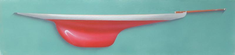 64x24 cm ~ Peinture, Acrylique - Reliance 2015