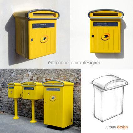 Design Boite aux lettres