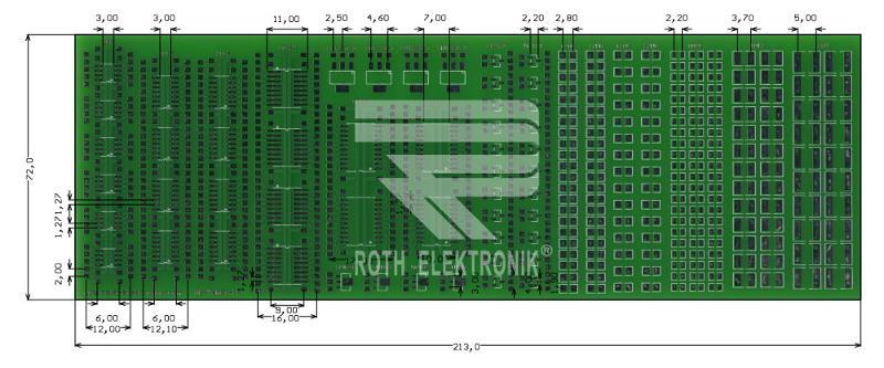 RE716001-LF - PCB for SMT Solder Practice