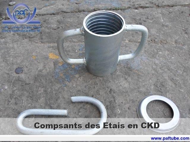 ETais - Compsants des ETais en CKD