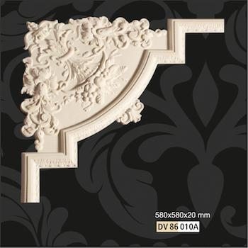 polyurethane wall borders design Ornaments Corners - polyurethane wall decorations