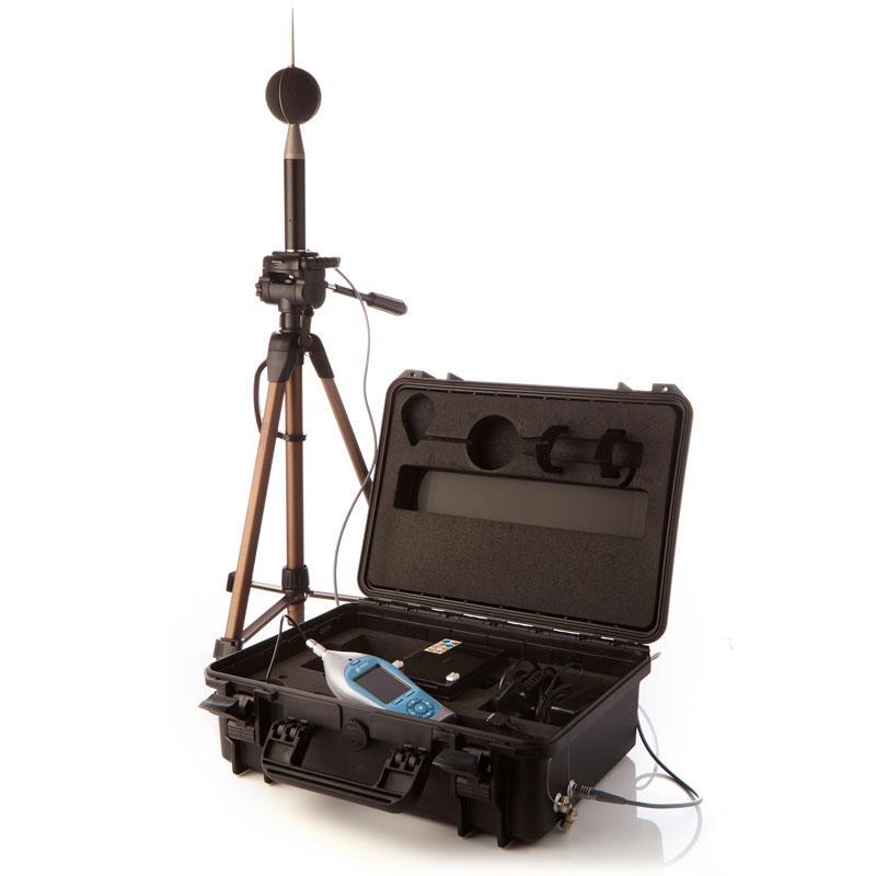 Nova Outdoor noise measurement kit - 24/7 outdoor noise monitoring for 14 days