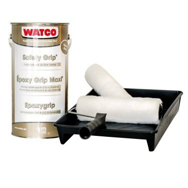 Peinture antidérapante pour escalier, rampe et quais de char - Kit Antidérapant pour Sol avec Trafic Intense 5m²