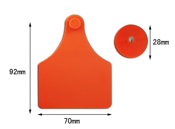 92*70mm TPU Cow /Cattle ear tag - Ear Tags