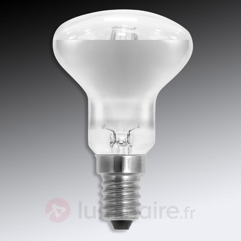 LED à réflecteur E14 2,5W 827 R50 transparente - Ampoules LED E14