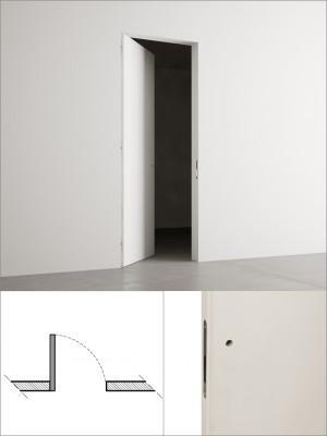 Hinged door cm 60×210 - Invisible hinged door cm 60×210